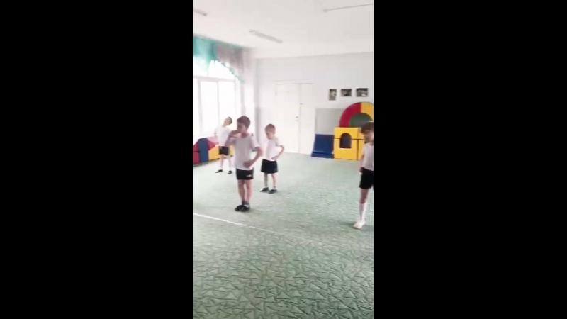 Открытый урок по спортивным единоборствам.  Детский сад 207. Тренер Клоков Валерий Геннадьевич
