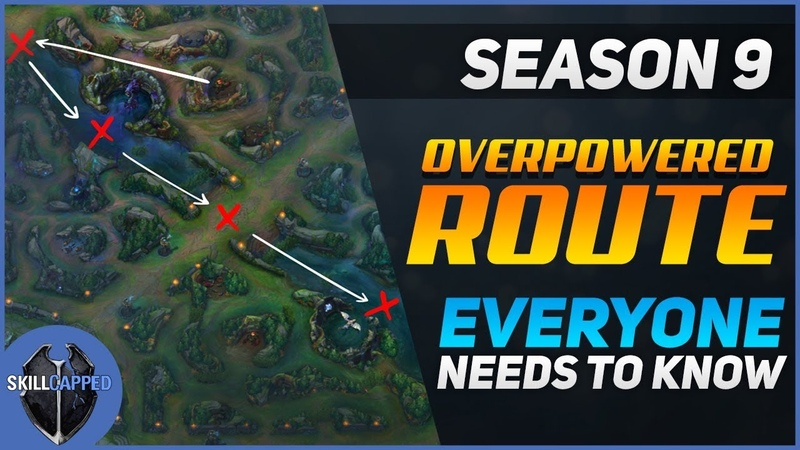 The Most Overpowered Jungle Route for Season 9! | Skill Capped