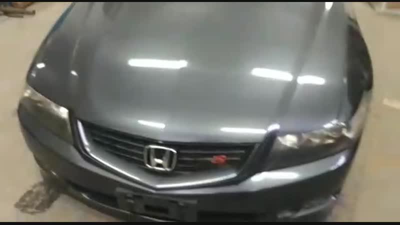 ВИДЕО-ОПИСЬ ПО ПРИХОДУ В РАЗБОР Honda Accord CL-9 рестайлинг TypeS 2.4L