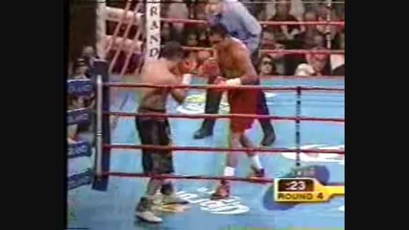 Boxeo.Oscar De La Hoya vs Javier Castillejo