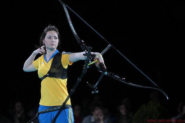 Украинка Анастасия ПАВЛОВА на чемпионате мира в Ниме