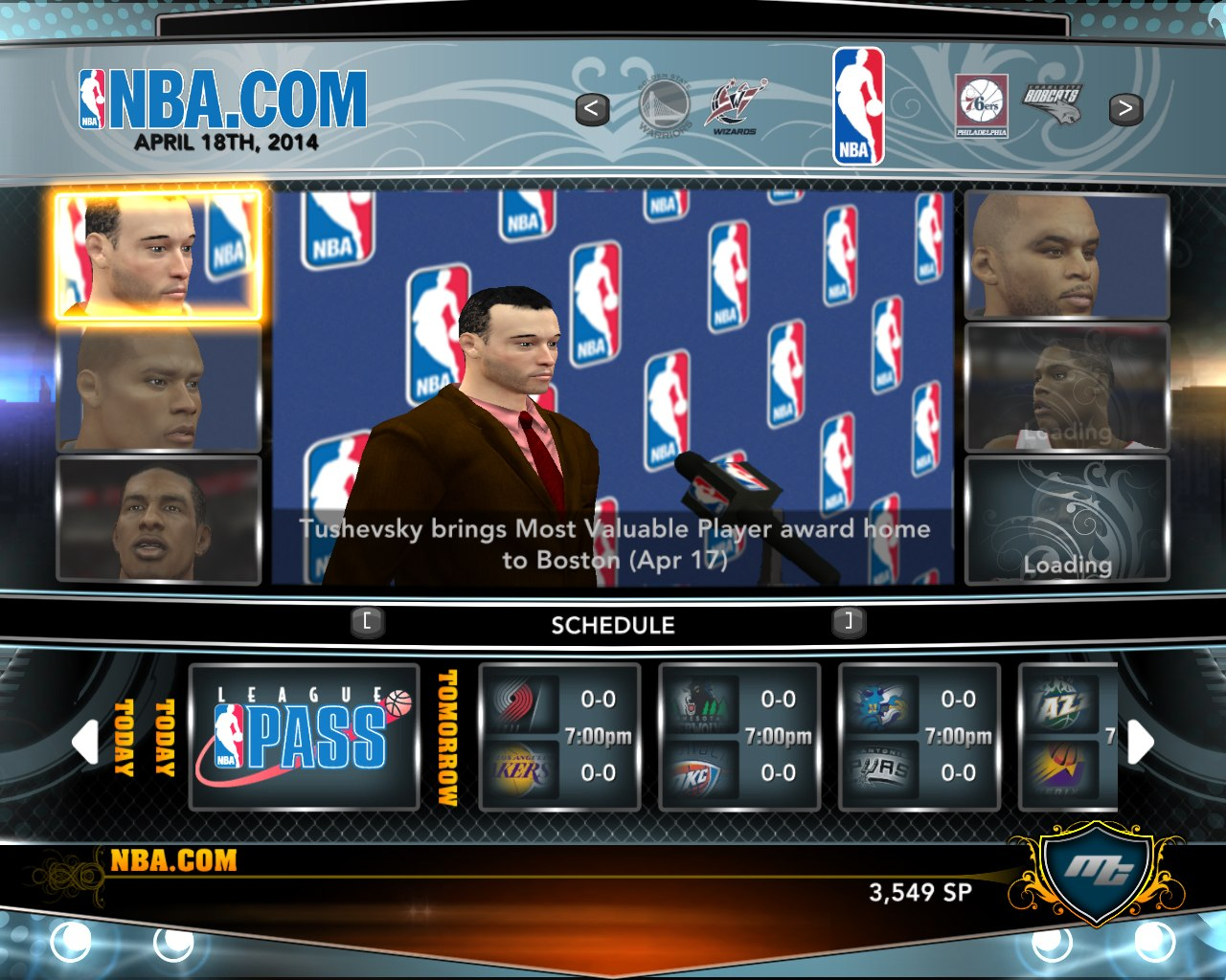 KinGnik MVP in NBA2K13