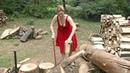 20 Extreme Dangerous Firewood Processor Machine, Modern Homemade Log Splitter Wood Processing Skills
