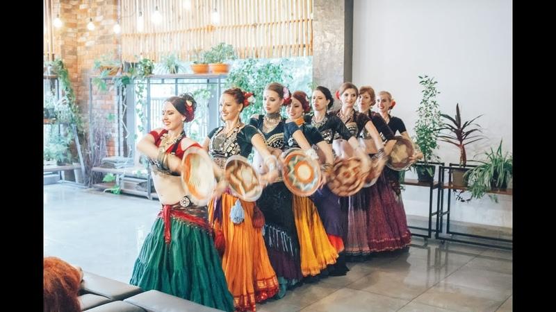 Iris Tribe - ATS® inspired choreography with baskets Хореография с корзинами, вдохновленная ATS®
