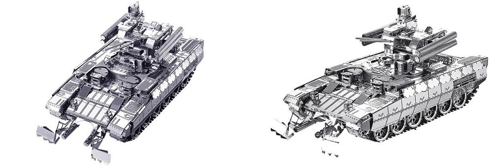Конструктор Piececool БМПТ танк 70091