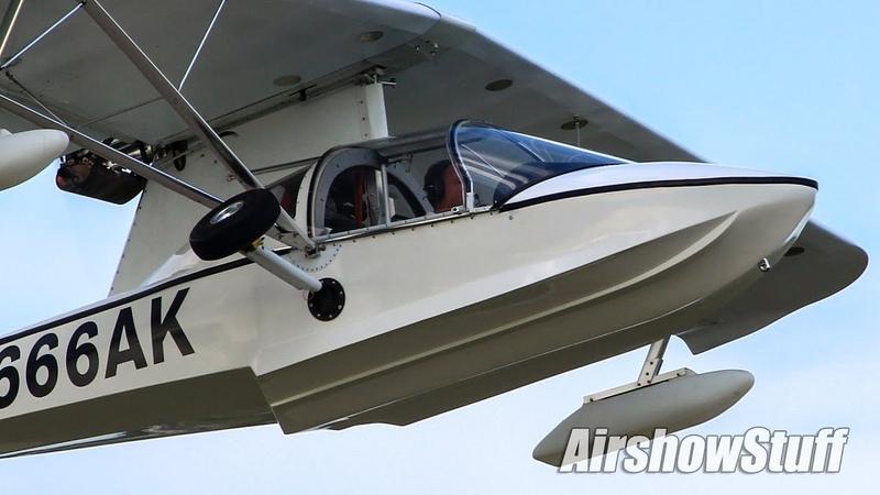 Busy Oshkosh Departures Saturday Part 2 EAA AirVenture Oshkosh 2018