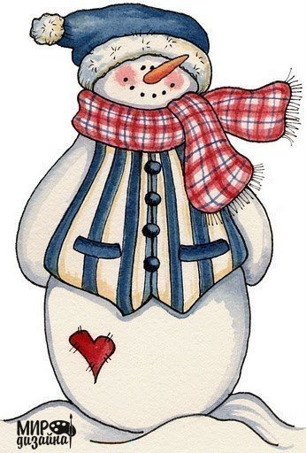 Забавные снеговички : (7 фото) - картинка