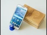 Китайский Samsung Galaxy S5 лучшая и точная копия первый взгляд распаковка unboxing