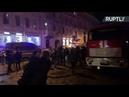 Трансляция от университета ИТМО в Санкт-Петербурге, где обрушились перекрытия