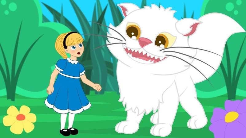 Алиса в Стране чудес сказка для детей анимация и мультик