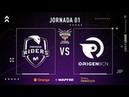 MOVISTAR RIDERS vs ORIGEN BCN | Superliga Orange League of Legends | Jornada 01 | Temporada 2019
