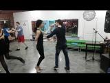 Танцуем с Женей на практике 9 февраля 2