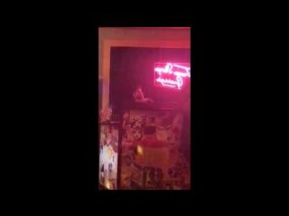 Darren singing Sugar Daddy with Anita Procedure at Tramp Stamp Grannys April 30, 2018