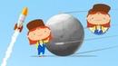 Мультфильм про машинки - Доктор Машинкова - Спутник - мультфильм о космосе