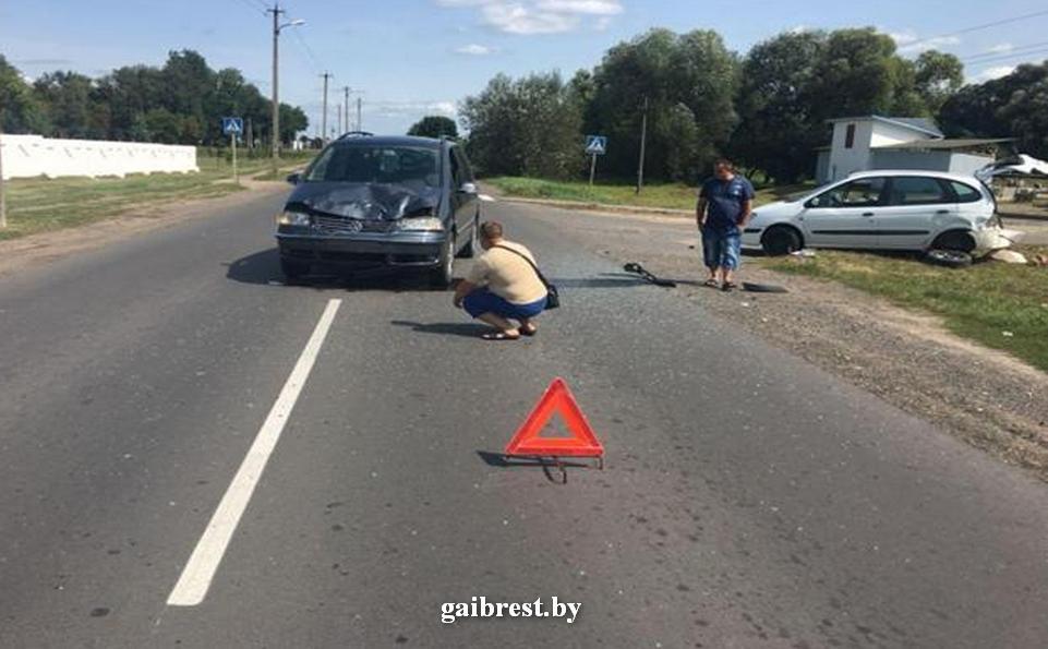 Жабинка: в результате столкновения травмирована 30-летняя женщина