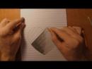 3D рисунок карандашом - сердце