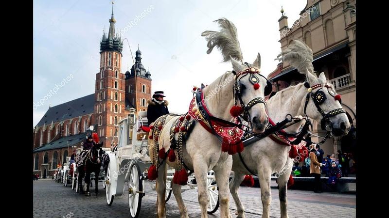 Краков, Рождественская прогулка, Польша / Kraków, Boże Narodzenie, Polska / Krakow, Poland