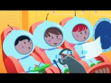 РАКЕТА - Развивающий мультик песенка для детей малышей про Синий трактор космос