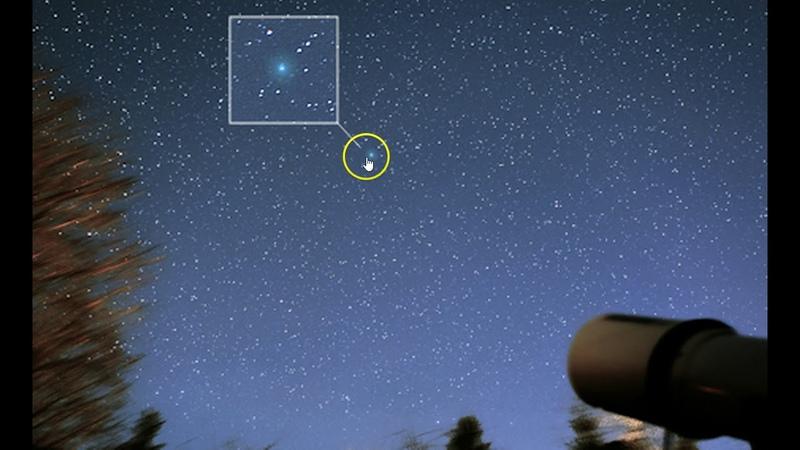 Comet 46P/Wirtanen's Green Glow Is Already Twice As Big As A Full Moon
