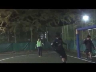 Lee Min Ho 이민호 playing soccer with his friends (2011)