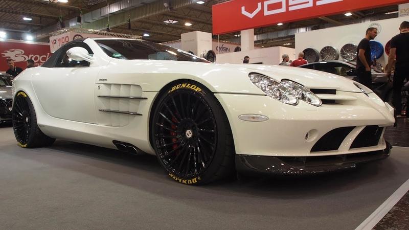Mercedes-Benz SLR McLaren on mbDESIGN ETA BETA Alloy Wheel VENTi-R