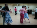 Милонга в танцевальном клубе Еще не вечер