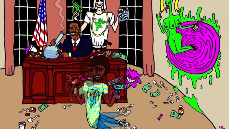 DJ Smokey Feat. Lofty305 Ruben Slikk - Mushroom Island Monsters (Official Musi