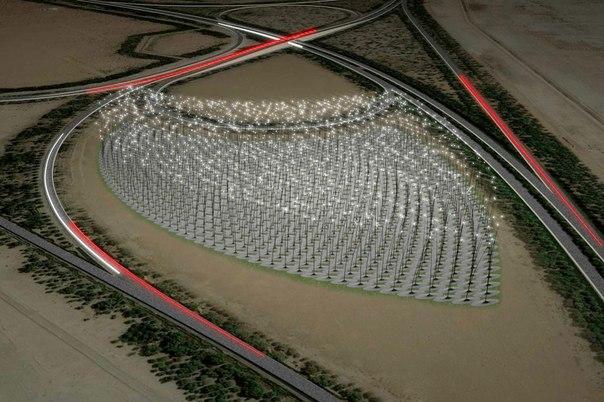 Разработана новая концепция без турбинных ветряных электростанций