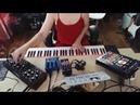 A Piedi Nel Parco live improv feat field recordings DFAM OP1 pedals