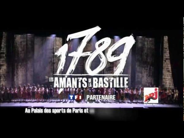 Bande annonce 1789, les Amants de la Bastille au Palais des Sports