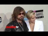 Billy Ray Cyrus, Miley Cyrus &amp Wayne Newton 2013 American Music Awards Red Carpet