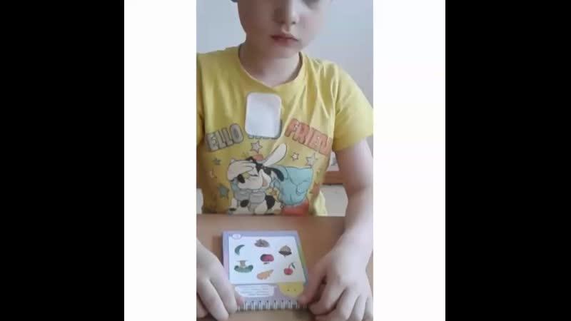 Детский сад 51 к.1, индивидуальное занятие. Логопед: Пивник Юлия Александровна. Тема: звук Л в начале слов, деревья.