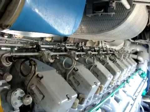 Дизель тепловоза 2ТЭ116 . Запуск дизеля. Д 49. Набор и сброс позиций.