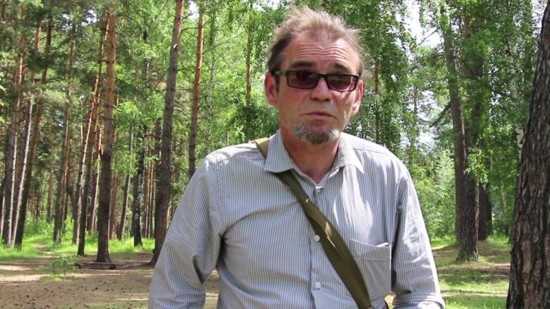 Гость Бардовских костров актёр - кукольник Сергей Нарыков