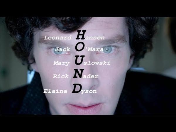 Шерлок подбирает пароль для доступа к проекту HOUND / ЛУЧШИЙ МОМЕНТ / Шерлок Холмс BBC