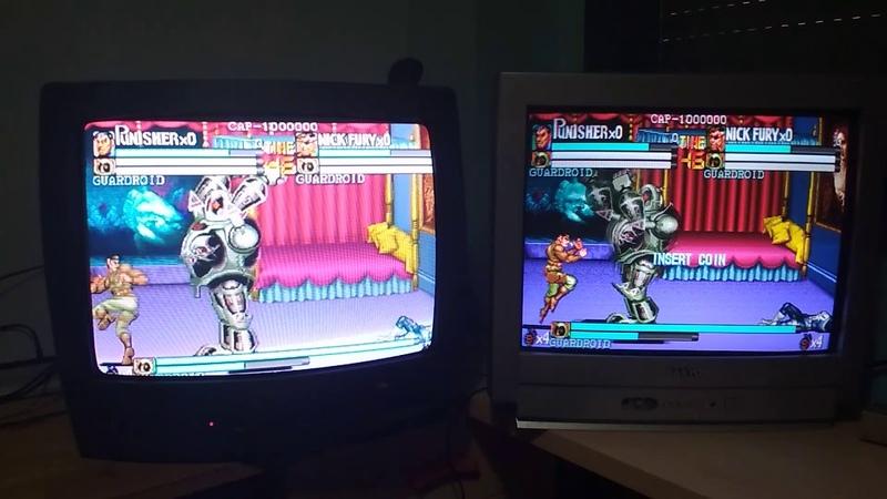 XBOX CLASICA RGB Vs RGB-PI