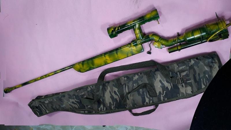 How to make a sniper rifles - Airsoft guns sniper/Creative fun-[Piece of Paper]