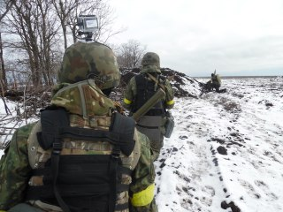 "Продолжаются бои за Саханку, - полк ""Азов"" - Цензор.НЕТ 6132"