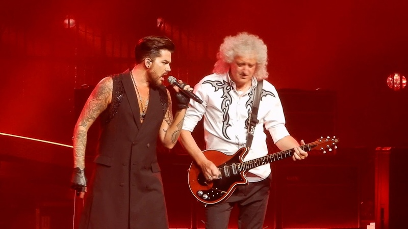 Queen and Adam Lambert Another One Bites The Dust I Want It All Vegas 19-9-2018