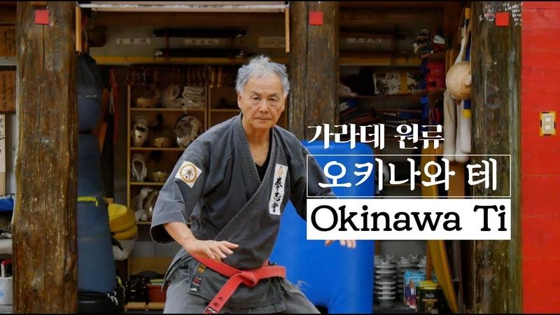 세계 무술[Martial Arts]-가라데의 원류 오키나와 테(Okinawa Ti - Origin Karate)