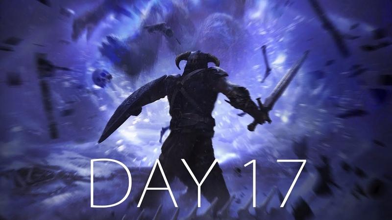 САМОЕ СПОКОЙНОЕ ПОДЗЕМЕЛЬЕ? ДОБЫЛ БРЕЛОК НА КЛЮЧИ ● SKYRIM HARD - Day 17