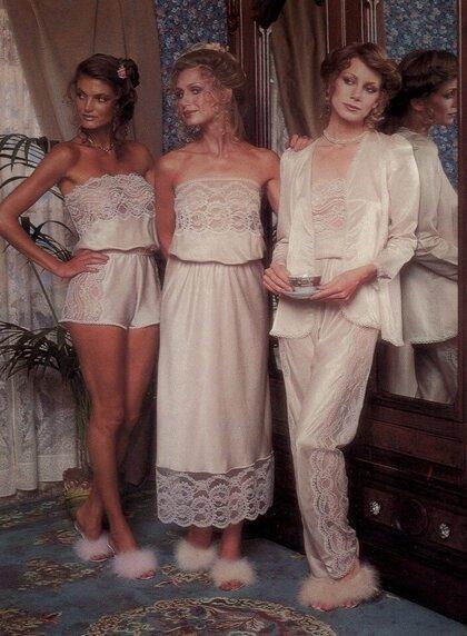 """Целомудренная реклама бренда нижнего белья """"Victoria's Secret"""" в 1979 году"""