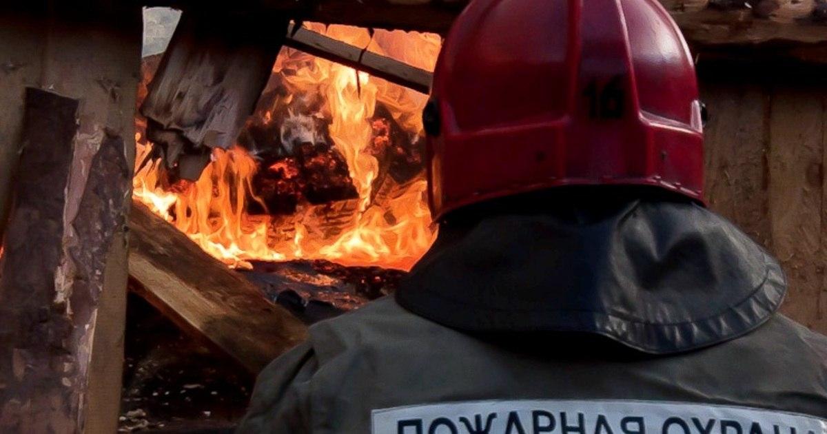 В Кардоникской сгорели две хозпостройки