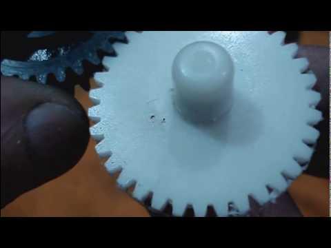 Fresa Módulo Artesanal - Primeiros testes