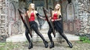 """BLACK SABBATH """"Paranoid"""" - Harp Twins, Camille and Kennerly"""