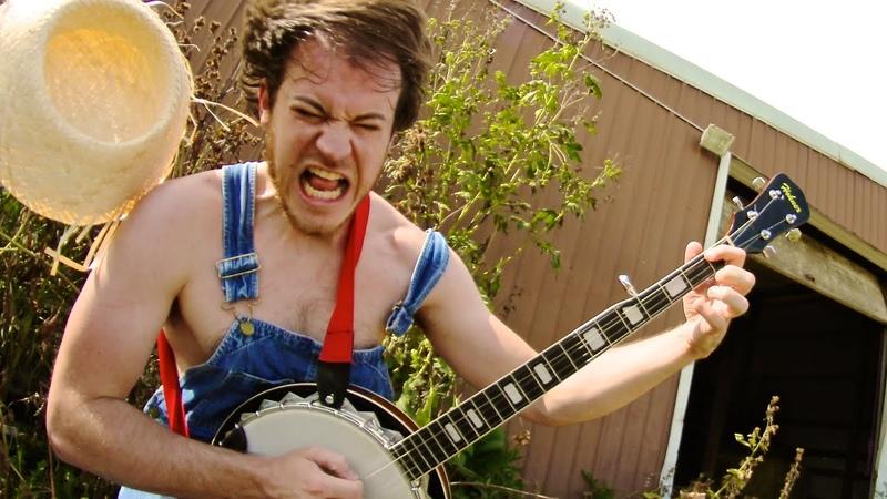 Slayer Angel of Death Banjo cover w solos