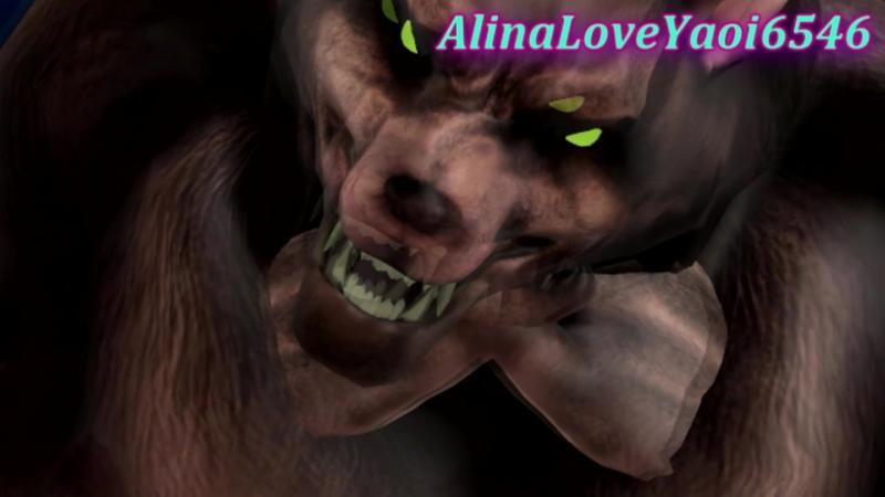 {MMD Sonic X TMNT} Raphael Werewolf And Sonic Werehog (Boy Love You)