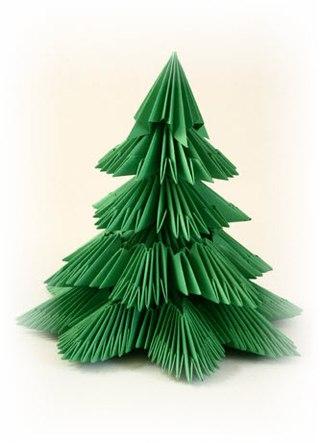 Зеленая елочка.