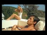 Romy Schneider &amp Alain Delon Blue Azure