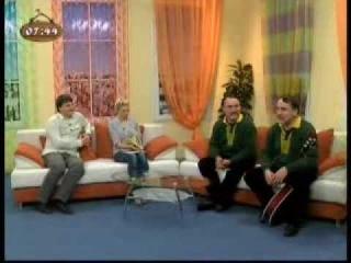 Брати Капранови в ефірі ранкового шоу